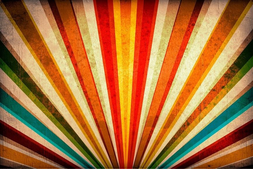 Multicolor Sunbeams