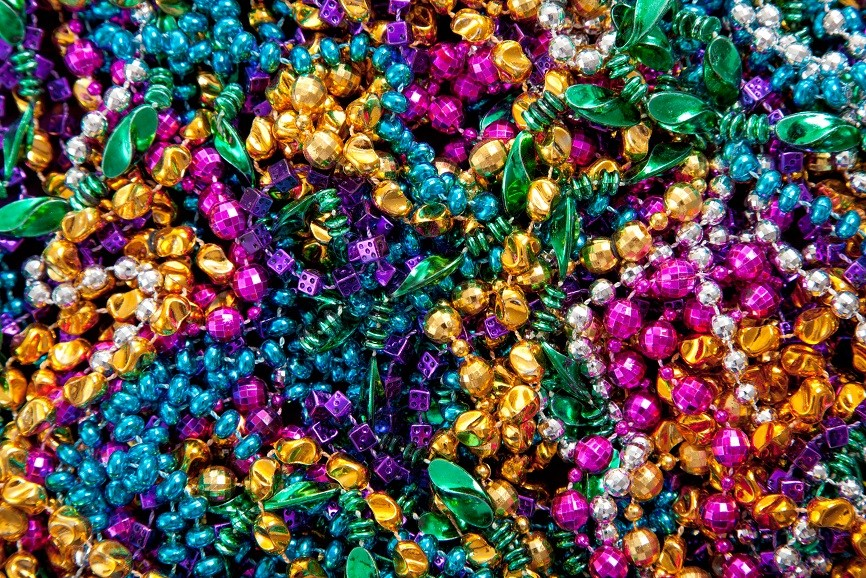 mardi gras beads