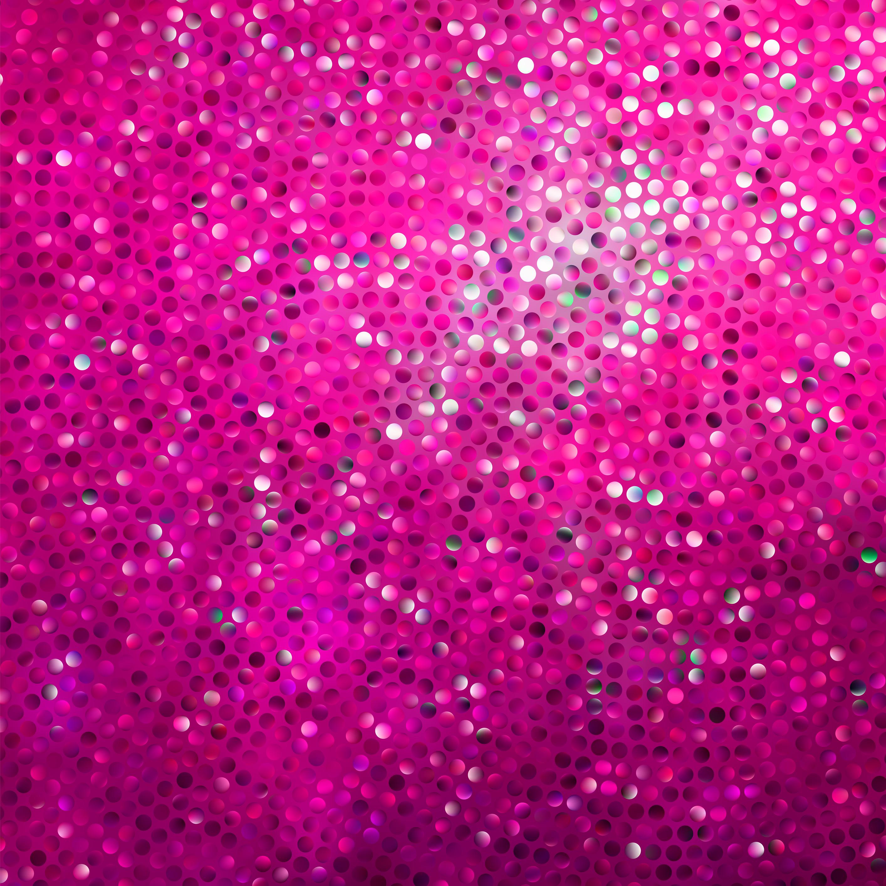 pink glittering