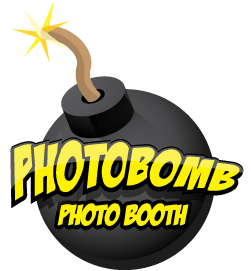 PhotoBomb Photo Booth Logo
