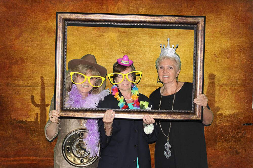 Ladies at PhotoBomb Photo Booth